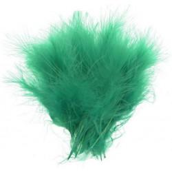 Ярко-зеленый, перо декоративное, 20 шт. Астра