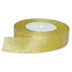 Под золото, металлизированная лента 25мм. 1м Blitz