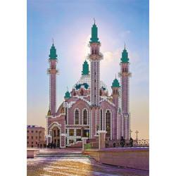 Мечеть Кул Шариф, ткань с рисунком для вышивки бисером, 30х39см. Gamma