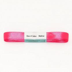 Яр.розовый, атласная лента 100% полиэстер ширина 12мм, длина 5.4м. Gamma
