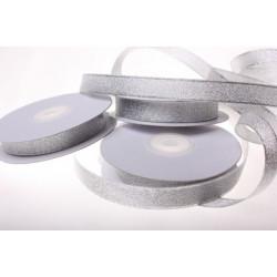 Под серебро, металлизированная лента 10мм. 1м Blitz