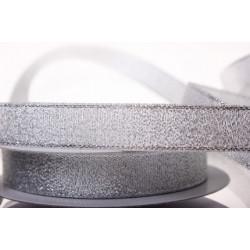 Под серебро, металлизированная лента 15мм. 1м Blitz