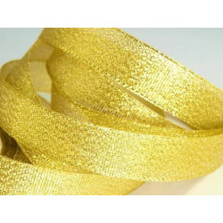 Под золото, металлизированная лента 15мм. 1м Blitz