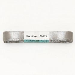 Св.серый, атласная лента 100% полиэстер ширина 12мм, длина 5.4м. Gamma