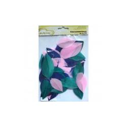 Синий/розовый, декоративные перья 5-6см 3гр±0,5гр, Mr. Painter