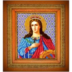 Екатерина Святая, набор для вышивания бисером 17х21см, Вышиваем бисером