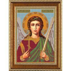 Ангел Хранитель, ткань с рисунком для вышивания бисером формат А3