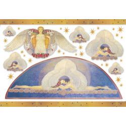 Бумага рисовая для декупажа Stamperia Божественная любовь, 1 лист 48х33 см 28г/м