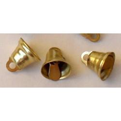 Под золото, колокольчики 11 мм 10 шт Zlatka