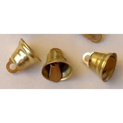 Под золото, колокольчики 16 мм 10 шт Zlatka