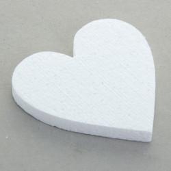 Сердце плоское 20х3см. Форма из пенопласта