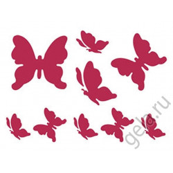 Бабочки, трафарет пластиковый 20х15 см Stamperia