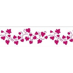 Виноградная лоза лента, трафарет пластиковый 60х7 см Stamperia