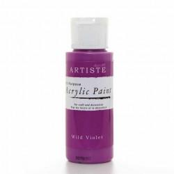 Краска акриловая ARTISTE, фиолетовый