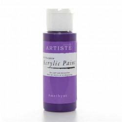 Краска акриловая ARTISTE, темно-фиолетовый