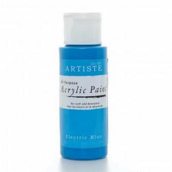 Краска акриловая ARTISTE, яроко-голубой