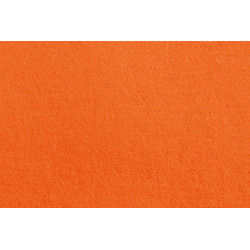 Ярко-оранжевый, фетр 20*30 см 1 мм 100% полиэстер