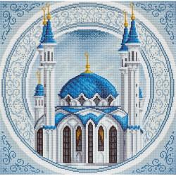 Кул Шариф, кристальная мозаика 40,5x40,5см, полное заполнение Фрея
