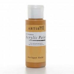 Краска акриловая ARTISTE, старое золото