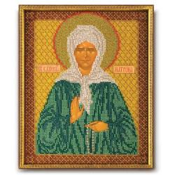 Матрона Московская, набор для вышивания бисером 20х25см Радуга Бисера