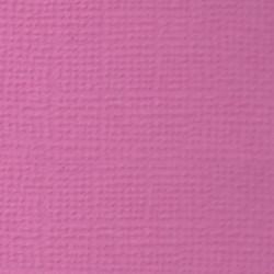 Buble Gum (фуксия), бумага для скрапбукинга(кардсток) 216г/м2, 30.5x30.5 см, Mr. Painter