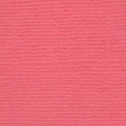 Ягодный леденец (коралловый), бумага для скрапбукинга(кардсток) 216г/м2, 30.5x30.5 см, Mr. Painter