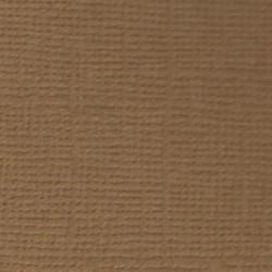 Кофе с молоком (коричневый), бумага для скрапбукинга(кардсток) 216г/м2, 30.5x30.5 см, Mr. Painter