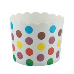 Цветной горох, бумажные формы для выпечки d 6см 6шт. Pane-Cake