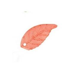 Красный лист, декоративные элементы 2,2х1,0см, 10шт. Zlatka