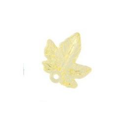 Желтый кленовый лист, декоративные элементы 2,1х2,0см, 10шт. Zlatka