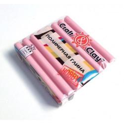 Розовый кварц, полимерная глина, 52гр. Craft&Clay