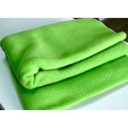 Зеленый, флис 230 г/кв.м, 100% полиэстер фасовка 50х50см