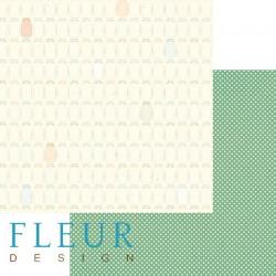 Баночки, коллекция Дыхание осени, бумага для скрапбукинга 30x30см, 190г/м Fleur Design
