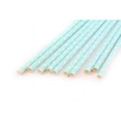 Горох мятный, бумажные трубочки,19,5см, 10 шт