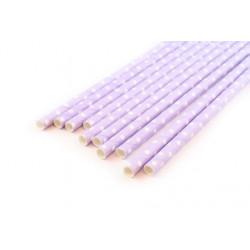 Горох сиреневый, бумажные трубочки,19,5см, 10 шт