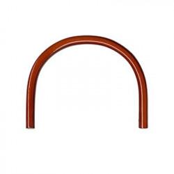 Коричневый, ручки для сумок 147х115 мм, Zlatka