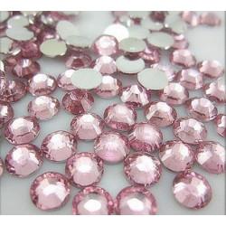 Св.розовый, стразы клеевые 2.7 мм, акрил, 144 шт, Zlatka