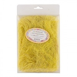 Желтый, сизалевое волокно 20гр. Blumentag