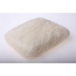 Белый, сизалевое волокно 20гр. Blumentag