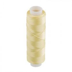 Яр.желтый, люминисцентные нитки(светящиеся в темноте) для вышивания, 100%полиэстер, 200 ярдов. Gamma