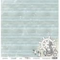 Якорь из коллекции Море, лист односторонней бумаги 30х30см, 190гр/м Scrapmir
