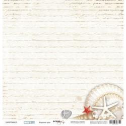 Морское дно из коллекции Море, лист односторонней бумаги 30х30см, 190гр/м Scrapmir