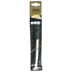 Крючок, вязальный с пластиковой ручкой, №4,5, 15 см, Addi
