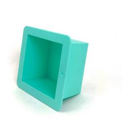 Куб 500гр, силиконовая форма для мыла