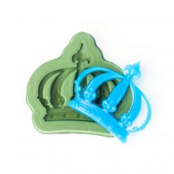 Короная императорская (круглая), силиконовый молд 3,5х4см