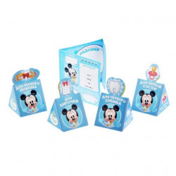"""Набор памятных коробочек + паспорт малыша """"Наш любимый малыш"""", Микки Маус, Дисней беби"""