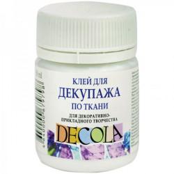 Клей для декупажа по ткани 50мл Decola