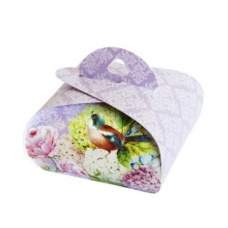 Подарочная коробочка Бонбоньерка Lilac, 2 шт в уп