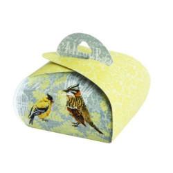 Подарочная коробочка Бонбоньерка Canary, 2 шт в уп