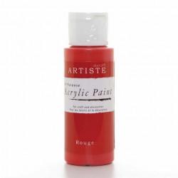 Краска акриловая ARTISTE, ярко-розовый